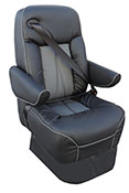 Sedona iS integrated seat belt seat for RV's