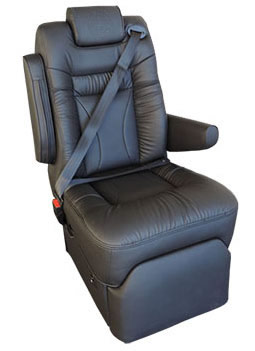 Promaster Integrated Seat Belt Seats Reclining Captains