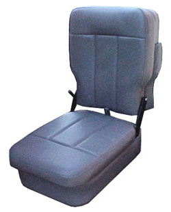 Van center console seat