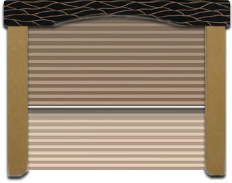 Van Pleated Shades, Day and Night Shades