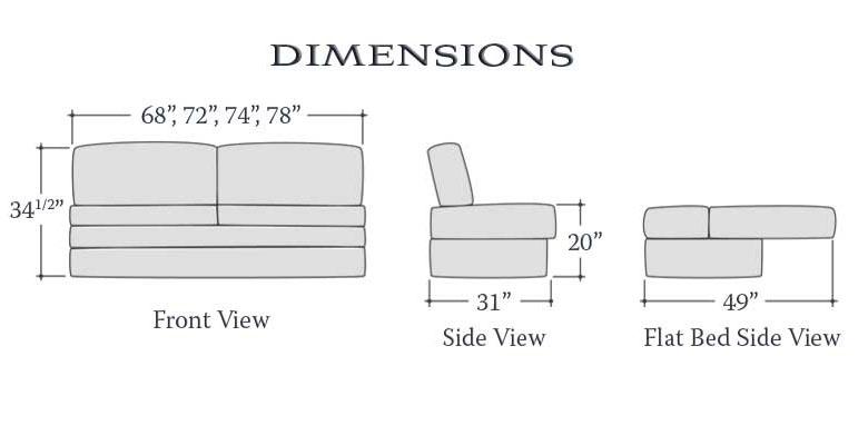 Alante Sofa Bed Rv Motorhome Furniture Ebay