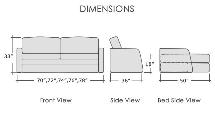rv furniture seats motorhome sofa bed seatcraft rv furniture belize d rh discountvantruck com sofa bed dimensions specifications sofa bed dimensions ikea
