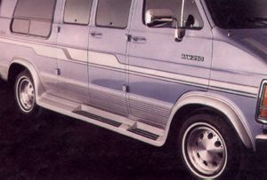 Fiberglass Van Running Boards