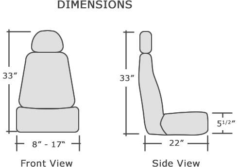 Suv Jump Seat Dimensions